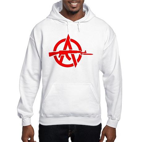 AK-47 Anarchy Symbol Hooded Sweatshirt