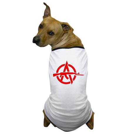 AK-47 Anarchy Symbol Dog T-Shirt