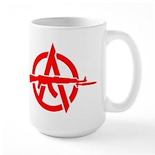 AK-47 Anarchy Symbol Mug
