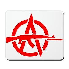 AK-47 Anarchy Symbol Mousepad