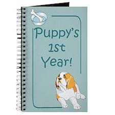 Saint Bernard Puppy's 1st Year Journal