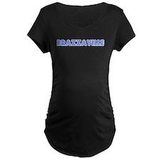 Retro Brazzaville (Blue) T-Shirt