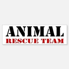 Animal Rescue Team Bumper Bumper Bumper Sticker