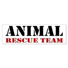 Animal Rescue Team Bumper Car Sticker