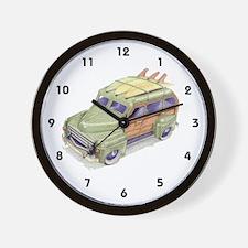 Toy Surf Car Wall Clock