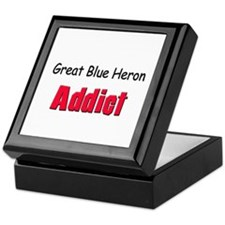 Great Blue Heron Addict Keepsake Box