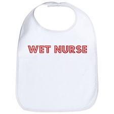 Retro Wet nurse (Red) Bib