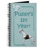 Great dane notebook Journals & Spiral Notebooks