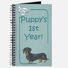 Dachshund Puppy's 1st Year Journal