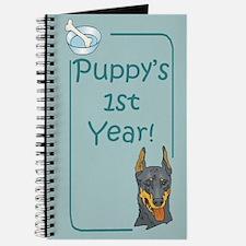 Doberman Puppy's 1st Year Journal