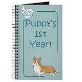 Corgi journal Journals & Spiral Notebooks