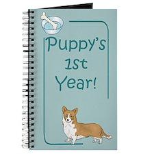 Welsh Corgi Puppy's 1st Year Journal