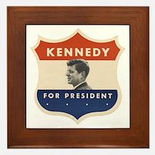 JFK '60 Shield Framed Tile