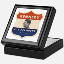 JFK '60 Shield Keepsake Box