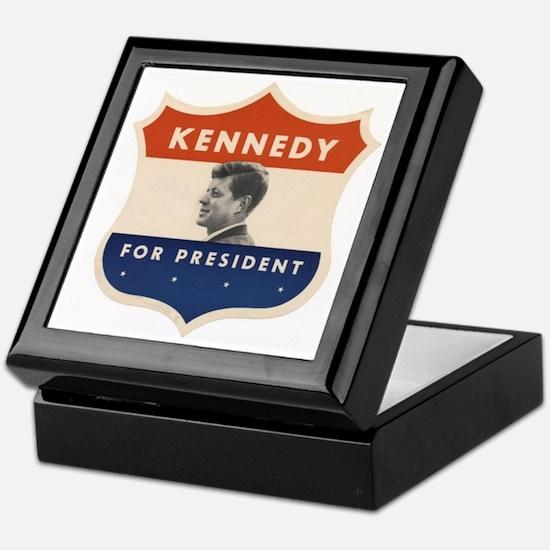 JFK '60 Shield Keepsake Box