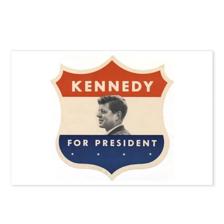 JFK '60 Shield Postcards (Package of 8)