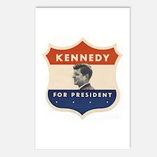 JFK '60 Shield Postcards (Package of 8)