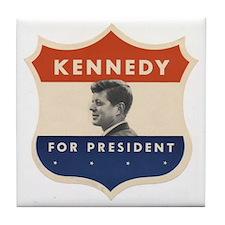 JFK '60 Shield Tile Coaster
