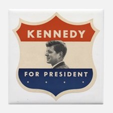 JFK '60 Shield Tile Coaster