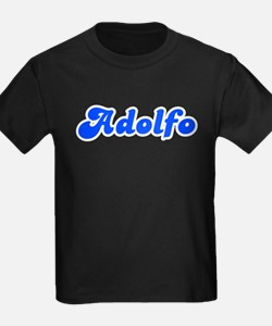 Retro Adolfo (Blue) T