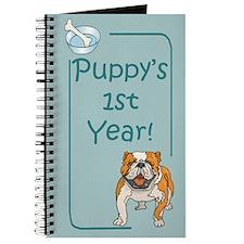 Bulldog Puppy's 1st Year Journal