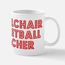 Retro Wheelchair .. (Red) Mug