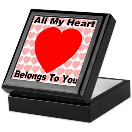 Everlasting Love Heart Keepsake Box