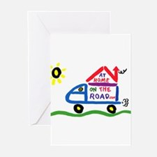 At Home on The Road Greeting Cards (Pk of 10)