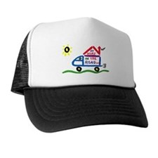 At Home on The Road Trucker Hat