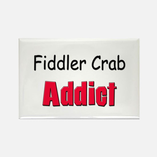Fiddler Crab Addict Rectangle Magnet