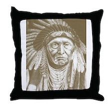 Cute Chief joseph Throw Pillow