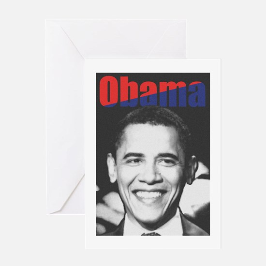 Obama RFK '68-Style Greeting Card