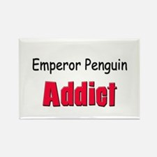 Emperor Penguin Addict Rectangle Magnet