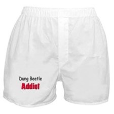 Dung Beetle Addict Boxer Shorts