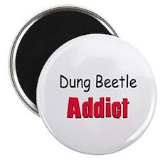 Dung Beetle Addict Magnet