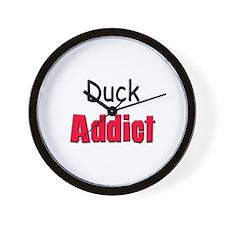 Duck Addict Wall Clock