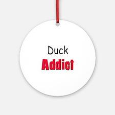 Duck Addict Ornament (Round)