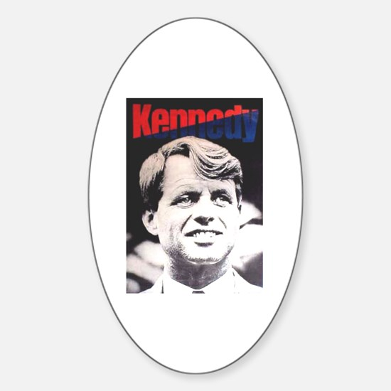 RFK '68 Oval Decal