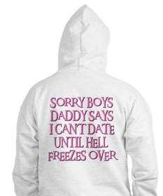 UNTIL HELL FREEZES OVER Hoodie