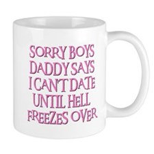 UNTIL HELL FREEZES OVER Small Mug