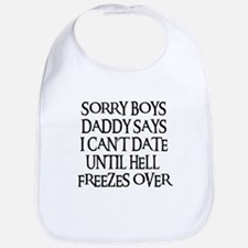 UNTIL HELL FREEZES OVER Bib
