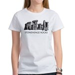 Stonehenge Rocks Women's T-Shirt