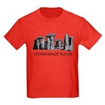 Stonehenge Rocks Kids Dark T-Shirt