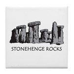 Stonehenge Rocks Tile Coaster
