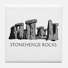 Stonehenge Rocks Tile Coaster