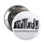 "Stonehenge Rocks 2.25"" Button (10 pack)"