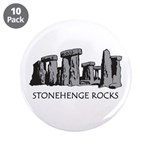 "Stonehenge Rocks 3.5"" Button (10 pack)"