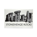 Stonehenge Rocks Rectangle Magnet (100 pack)