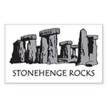 Stonehenge Rocks Rectangle Sticker