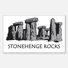 Stonehenge Rocks Rectangle Decal